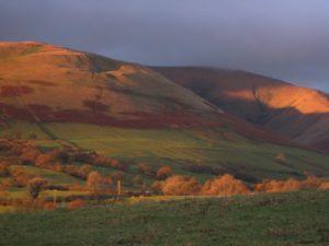 The Howgills from the Threshing Barn