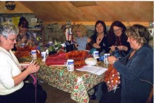 Knitting Workshop at The Threshing Barn