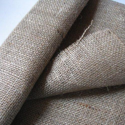 Brown Rug Hessian