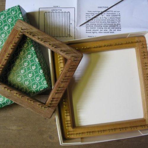 Wooden Pin Loom