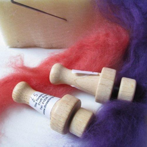Wooden Felting Needle Holder