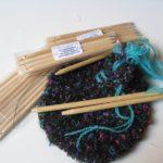 finger weaving sticks