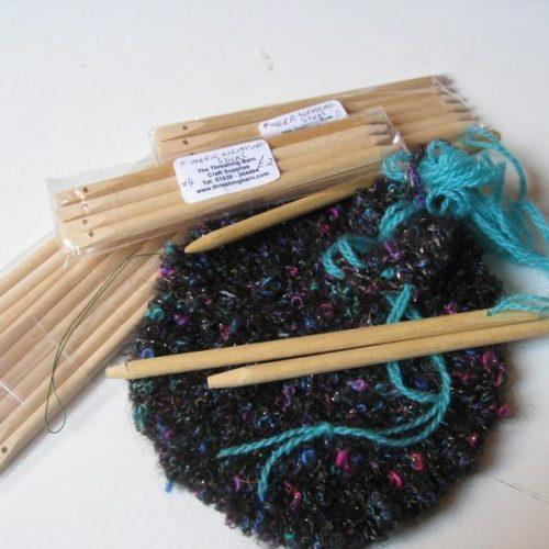 finger weaving sticks