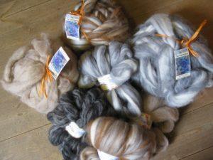 Merino wool with alpaca and llama