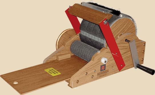 Petite belt driven carder