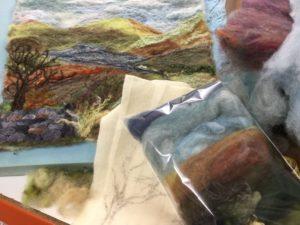 Landscape Needle Felting kits