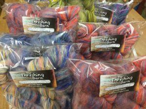 Mixed wool and mohair packs